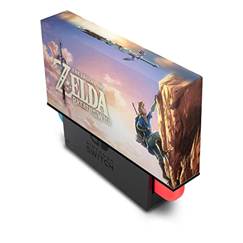 Capa Anti Poeira Nintendo Switch - Zelda Breath Of The Wild