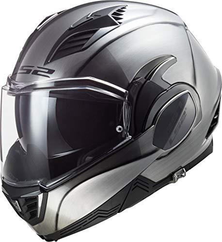LS2 Motorradhelm FF900 VALIANT II JEANS, Grau, M Nc