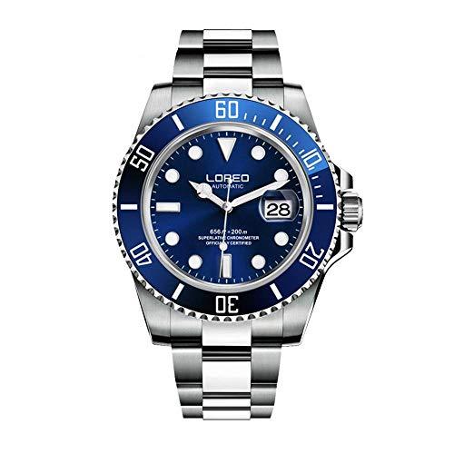 Reloj LOREO deportivo automático para hombre azul