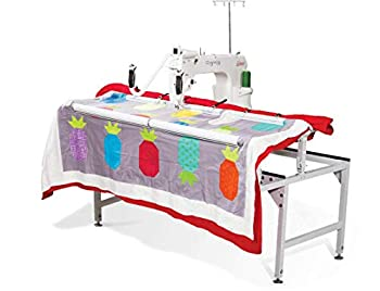 Grace Q Nique 15R Stitch Regulated Long Arm Quilting Machine with Q-Zone 4.5 Foot Hoop Frame