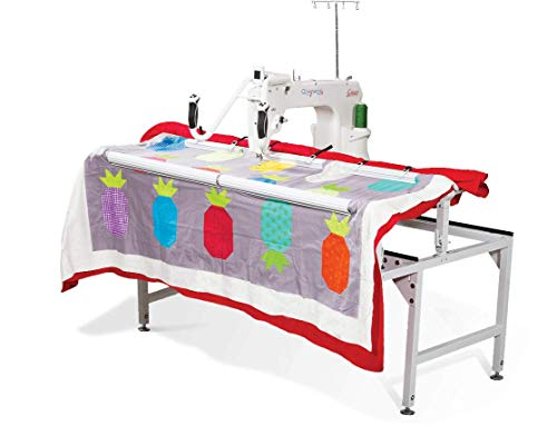 Grace Q'Nique 15R Stitch Regulated Long Arm Quilting Machine with Q-Zone 4.5 Foot Hoop Frame