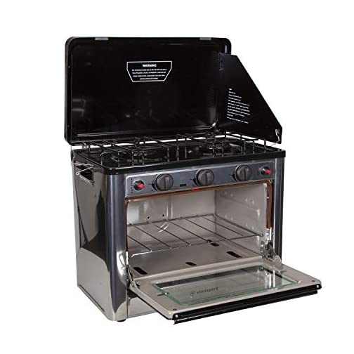 Stansport Propane Outdoor Camp Oven and 2 Burner Range 3