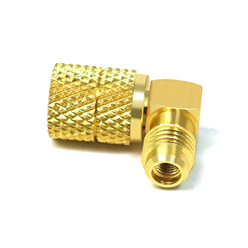 Atoplee 2 pcs M1/4sae-f5 froid de/16 connecteur adaptateur adaptateur pour R410 a jauges Tuyau