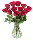 Delivery by Thursday, May 13th Dozen Red Roses by Arabella Bouquets