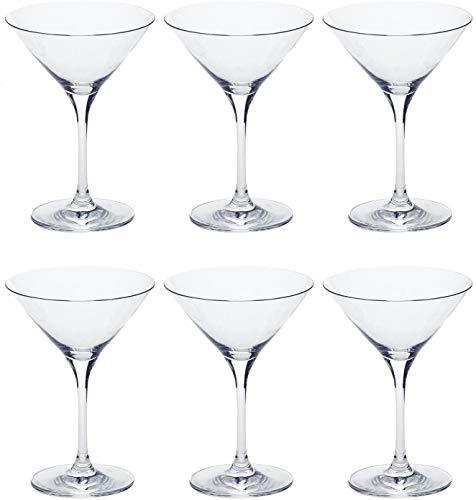 Leonardo Ciao+ Cocktail-Schalen, Cocktail-Glas mit Stiel, spülmaschinenfeste Cocktail-Kelche, 6er Set, 200 ml, 061455