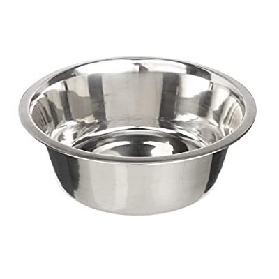 Neater Pet Brands Stainless Steel Dog and Cat Bowls - Neater Feeder Deluxe or Express Extra Replacement Bowl (Metal Food and Water Dish) (7 Cup)