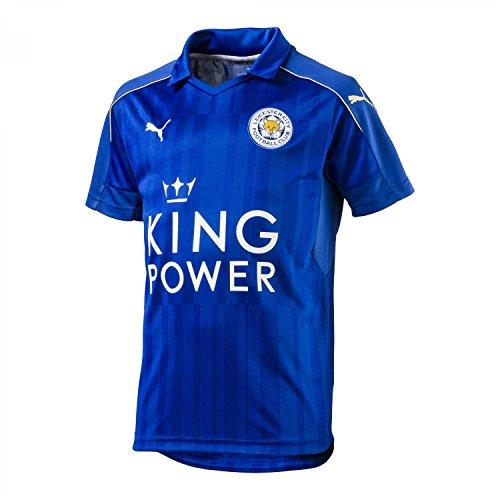 PUMA Kinder Leicester City Home Trikot 2016/17 897475 Royal Blue-Metallic Gold 176