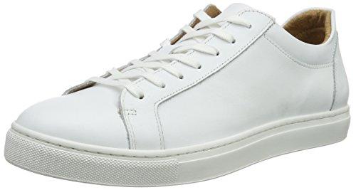 SELECTED HOMME SHNDAVID Sneaker Noos, Baskets Basses, Blanc, 46 EU