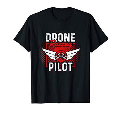 Piloto de carreras de aviones teledirigidos FPV Racing Camiseta