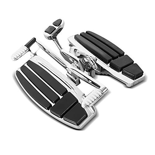 Fahrer Trittbretter für Honda Goldwing GL 1800 / F6B / F6C 01-16 Fussrasten Chrom