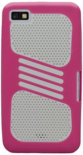 Katinkas Dual-Cover Rigida per Blackberry Z10, Colore: Magenta/Bianco