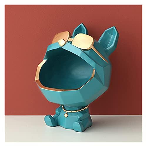 XIAOZHENT Piggy Bank Beeldje Grote Mond Hond Opbergdoos Woondecoratie Sierhars Kunst Beeldhouwkunst Beeldjes Home Decor…