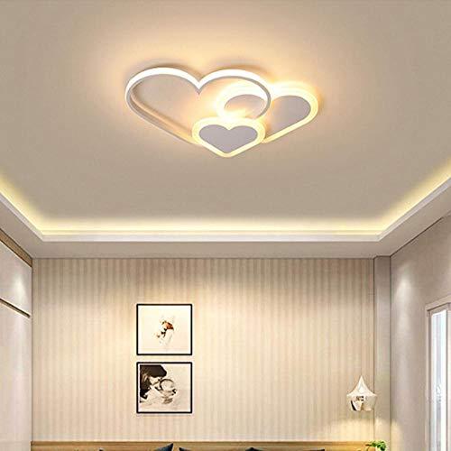 Moderne LED-lamp kroonluchter sterren roze wit lamp voor kinderen slaapkamer meisjes huisverlichting kroonluchter 1_warm licht 420xH60mm wit