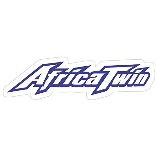 Vinyl Sticker for Cars, Trucks, Water Bottle, Fridge, Laptops Africa Twin Merchandise Stickers (3 Pcs/Pack)