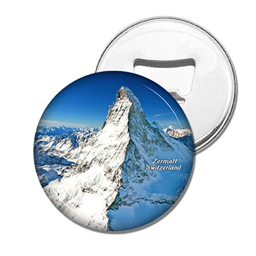 Weekino Schweiz Matterhorn Zermatt Bier Flaschenöffner Kühlschrank Magnet Metall Souvenir Reise Gift