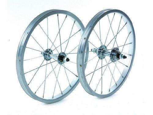 Tru-build Wheels Herren RGR710 Fahrrad-Hinterrad, Silber - Silber, 16 x 1.75 Inch