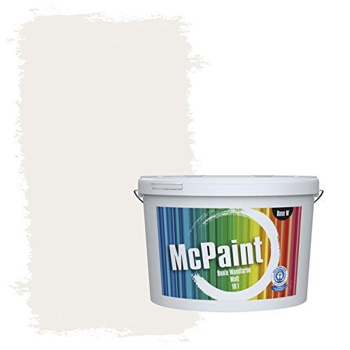 McPaint Bunte Wandfarbe Lichtgrau - 10 Liter - Weitere Graue Farbtöne Erhältlich - Weitere Größen Verfügbar