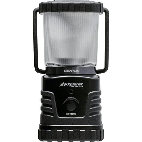 GENTOS(ジェントス) LED ランタン 【明るさ360ルーメン/実用点灯27-78時間/防滴】 エクスプローラー EX-V77...