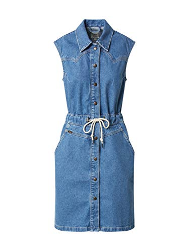Lee Drawstring Dress Vestido Casual, Clean Callie, L para Mujer