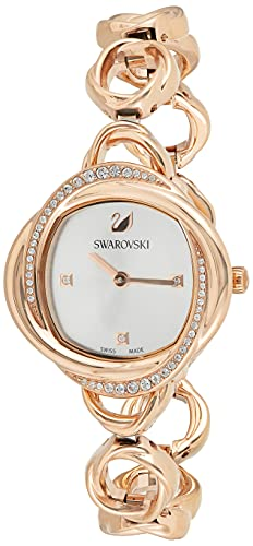Swarovski Damen-Uhren Analog Quarz One Size Roségold 32014283