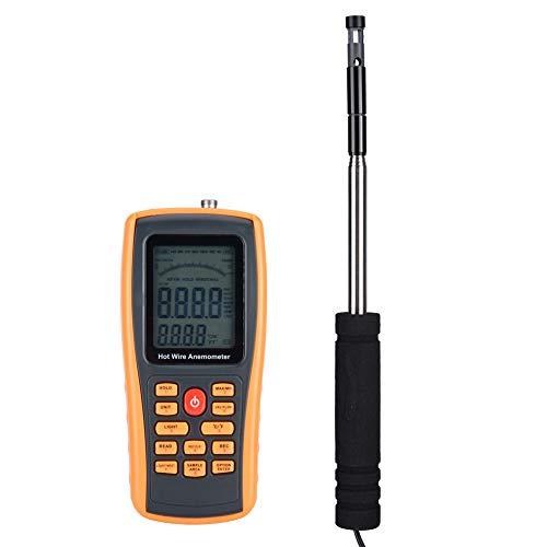Värmetråd: anemometer, GM8903 bärbar digital värmetråd-vindhastighetsmätare anemometer, elektrisk testare, digital anemometer