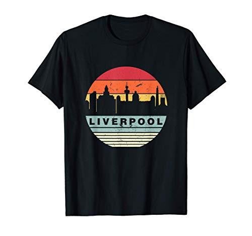 Retro Vintage A Juego Con De Liverpool Camiseta