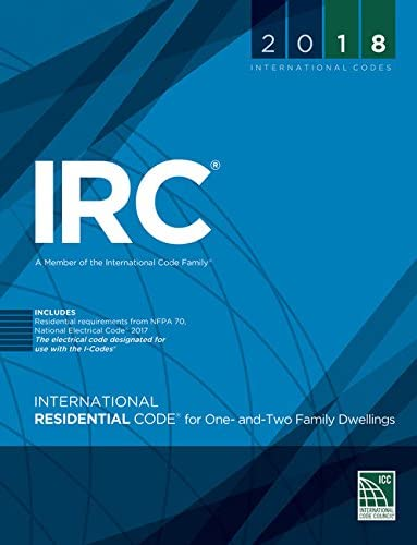 2018 International Residential Code for One and Two Family Dwellings International Code Council product image