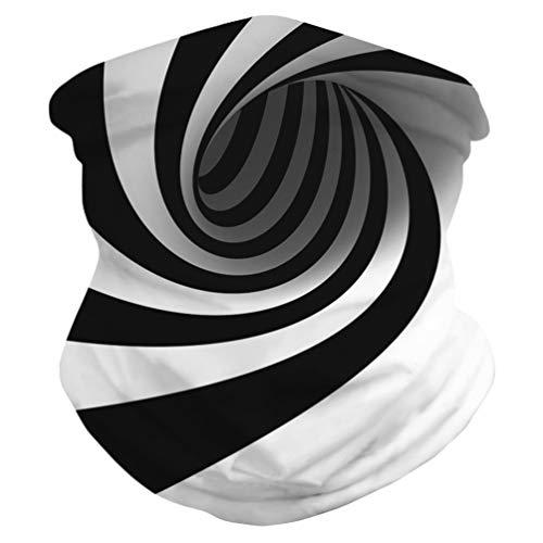 WINOMO 3D Visage Écharpe Couverture Cou Guêtre Chapeaux Foulard Magique Balaclava Bandana pour La Pêche Moto en Cours Dexécution pour Homme Femme