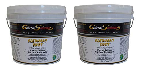 Graffiti Remover Elephant Snot (2 - One Gallon pails) Sold by The Manufacturer