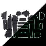 Rtyuiop Alfombrilla para Ranura de Puerta, para Audi A4 B8 2008~2015 RS4 S4 S Line RS 4 portavasos Alfombrillas Antideslizantes Accesorios de Posavasos de Goma Pegatina para Coche