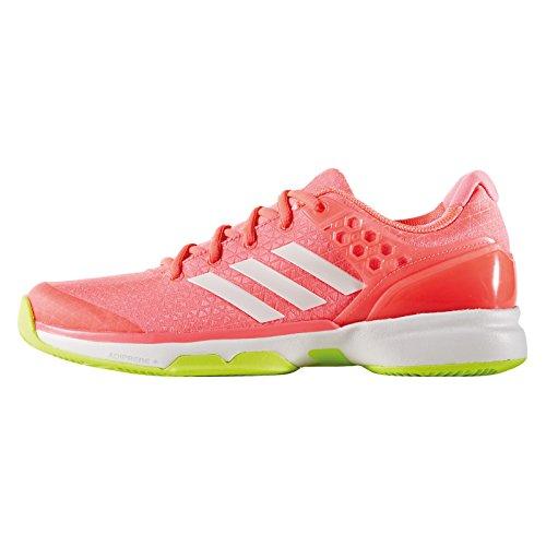 Chaussures de Tennis adidas Adizero Ubersonic 2 W Orange Taille FR - 44