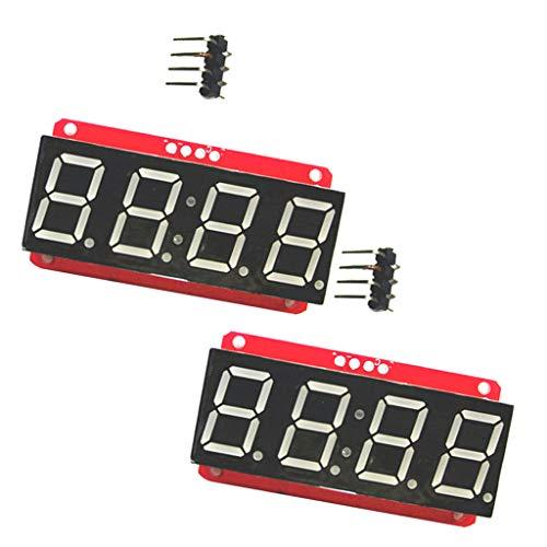 SDENSHI 2x LED Anzeigemodul HT16K33 I2C 0,56