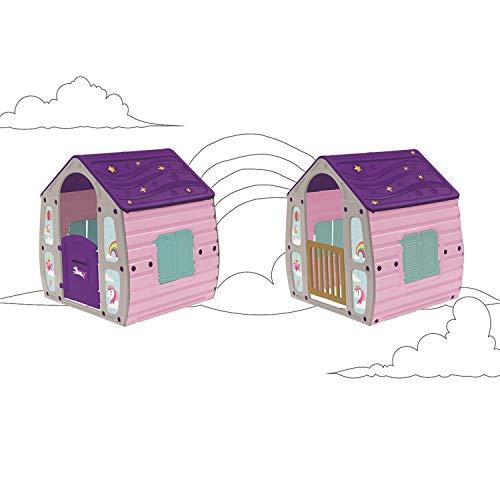 COIL - Casetta da giardino per bambini, in plastica
