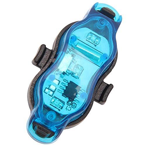 Maidi Ruedas de Bicicleta Luces Luces del Rayo Impermeable LED Recargable Lámparas para Vespa Segura Advertencia Bici de Llanta Neumático Azul