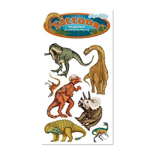 Tattoos * DINOS & T-REX * von Lutz Mauder // 44646 // Dinosaurier Saurier Kinder Kindertattoo Kindergeburtstag Geburtstag Mitgebsel