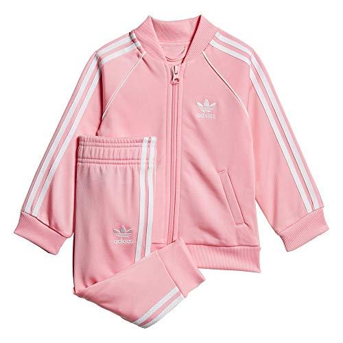 adidas Originals Tuta da Bambini SST Rosa Taglia 3-4 A cod GD2628