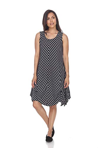Neon Buddha French Polynesia Dress Black Small