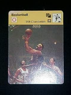 1977 Sportscaster card Wilt Chamberlain Mint