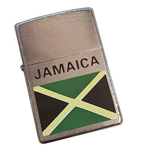 Más Ligero Coleccionables Encendedores Gasolina Benzol Zip Jamaica