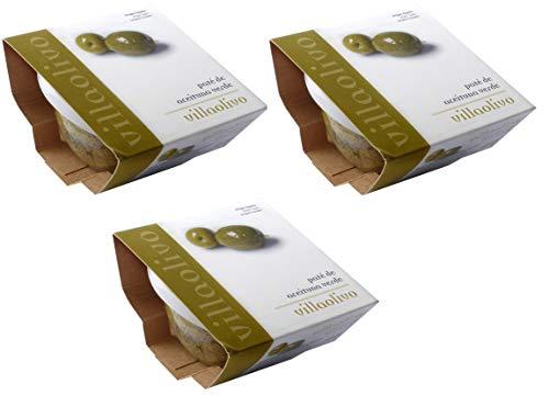 Pack 3 Uds. 125 gr. Paté o tapenade de aceitunas verdes 100% natural