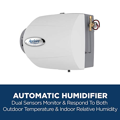 Aprilaire 500 Whole House Humidifier, Automatic Compact Furnace Humidifier
