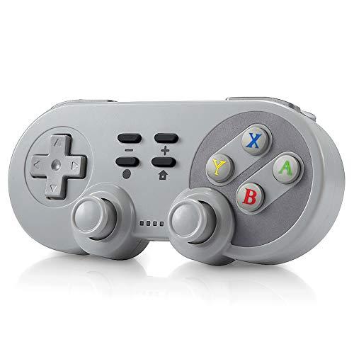 Ertisa Wireless Controller für Nintendo Switch, 4-IN-1 Bluetooth Dual Motor Vibration, Controller für PS3, Nintendo Switch, Android und Windows, Switch Controller Gamepad Joypad Joystick