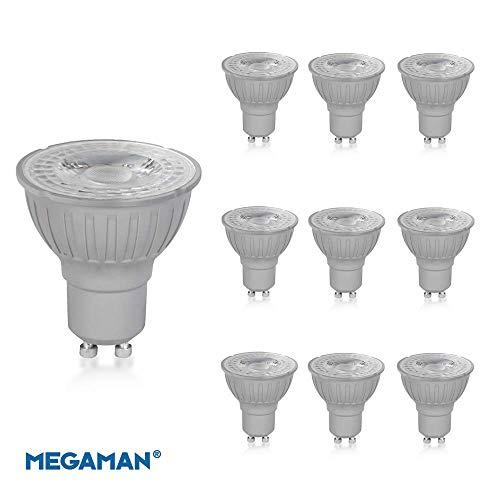 Megaman 140510 LED GU10 PAR16 Leuchtmittel 4,2 Watt, 36 Grad, 2800 K Warmweiß, 410 Lumen, nicht dimmbar