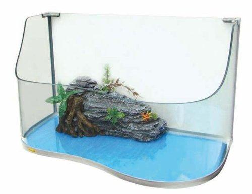 Tugaland WT2077109 Paradise 80 Schildpadaquarium, 80 x 45 x 30/50 cm