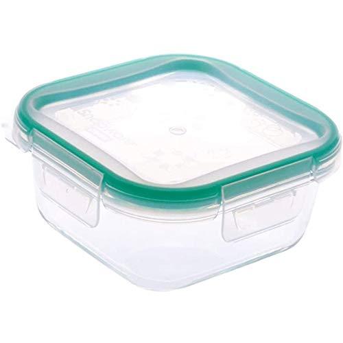 SMX Premium luchtdichte kunststof houder Easy Lock deksel magnetron en vaatwasser veilig maaltijden perfect prep of levensmiddelenbak (groen)