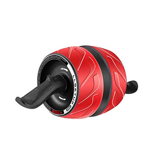 Sale!! Jingfengtongxun Fitness Roller, Abdominal Muscle Abdomen Machine Automatic Rebound Silent Exe...