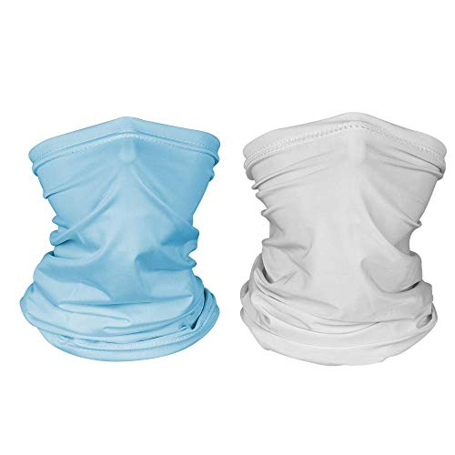 DECOMEN Kids Youth Neck Gaiter Fishing Sun Mask - Junior UV Protection Face Tube Mask-2PCS…