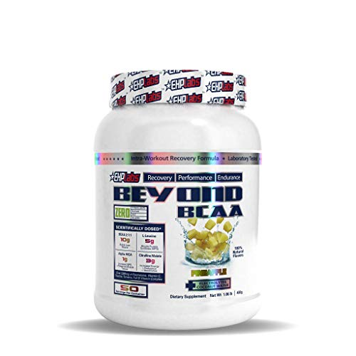 Beyond BCAA by EHPlabs - BCAA Powder for Performance, Recovery, Endurance & Muscle Building (Pineapple)