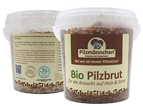 Bio Braunkappen Spezial Pilzbrut Substratbrut, eigene Pilze züchten