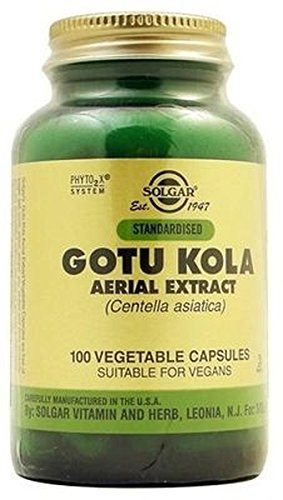 Gotu Kola (Centella Asiatica) 100 cápsulas de Solgar